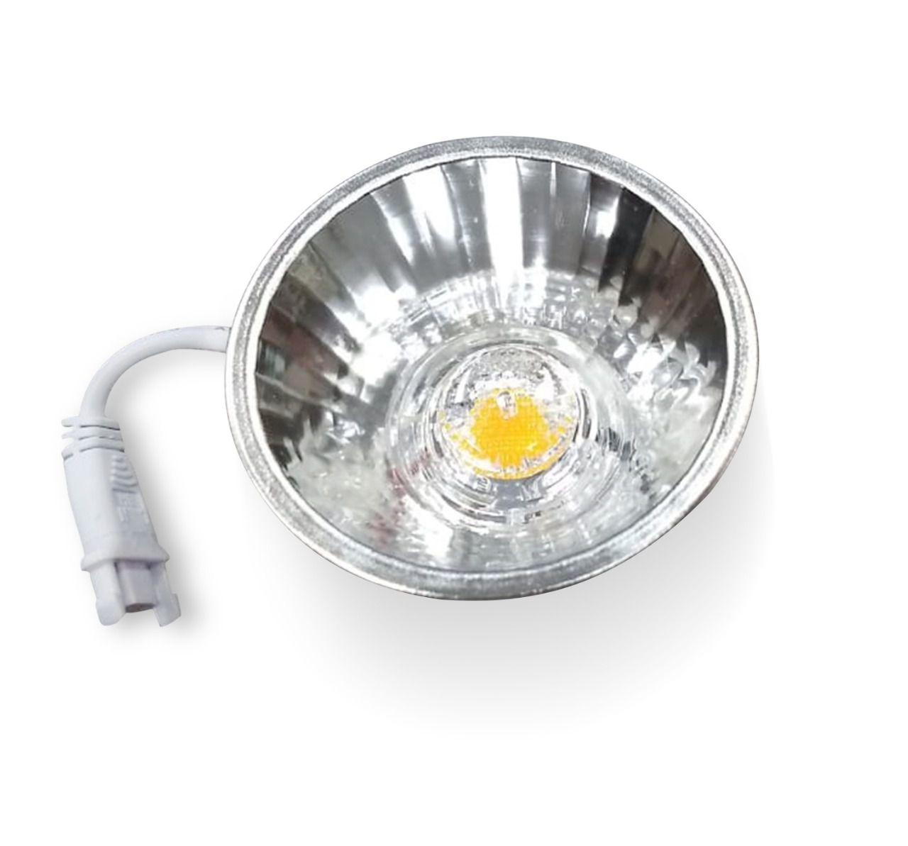 Lampada Led AR70 5W C/ Driver  - 9led