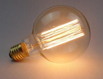 Lampada Led Filamento de Carbono G95 4W  - 9led