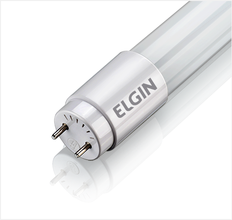 Lâmpada LED Tubular T8 - 18W - 6500K
