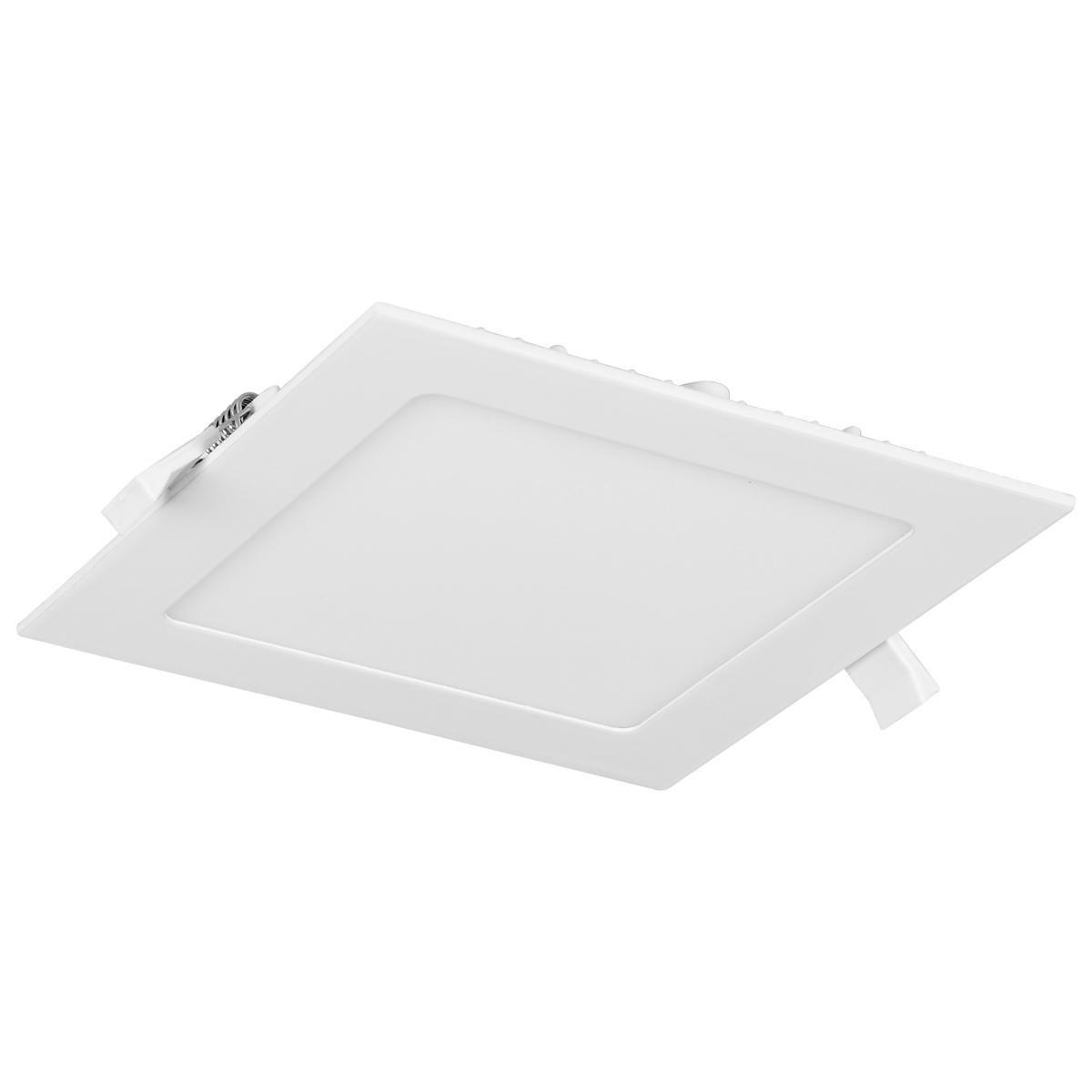 Luminária Plafon LED Embutir Quadrada 6W
