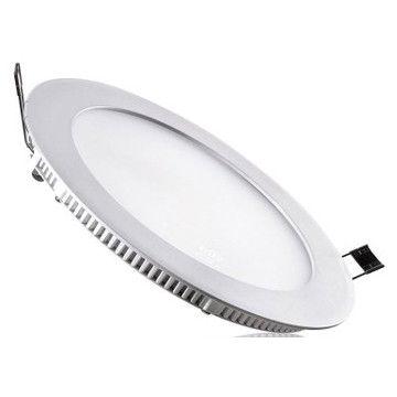 Luminária LED Embutir Redonda 18w   - 9led