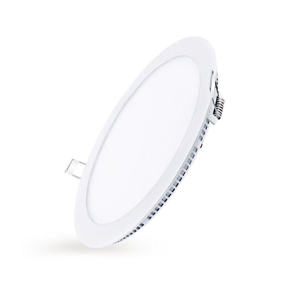 Luminária Plafon LED Embutir Redonda 24W - Losch