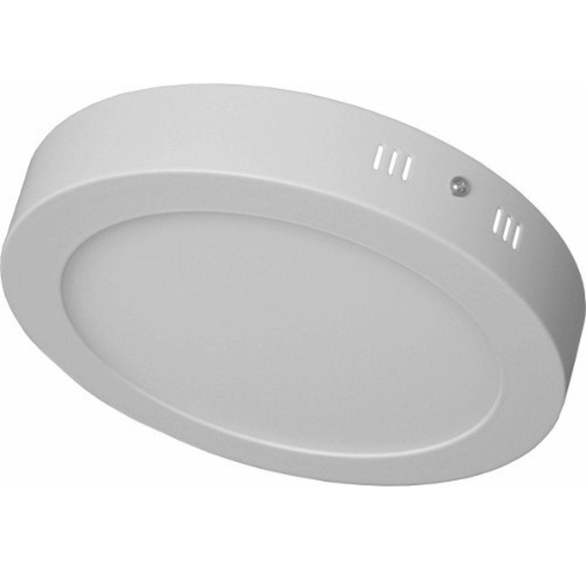 Luminária Plafon LED Sobrepor Redonda 12W - Losch