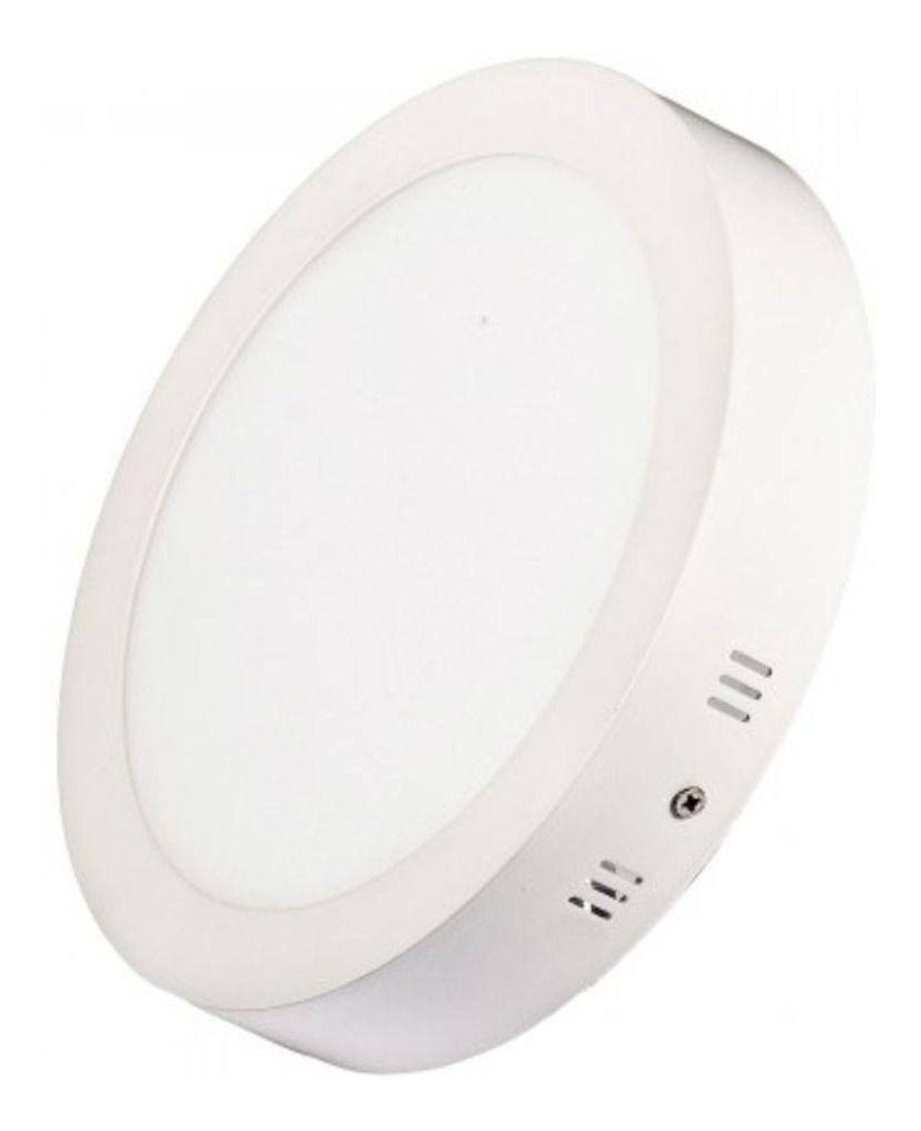 Luminária Plafon LED Sobrepor Redonda 18W - Losch