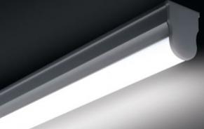 Luminaria Led T5 C/ Calha - Branca Fria - 6000K  - 9led