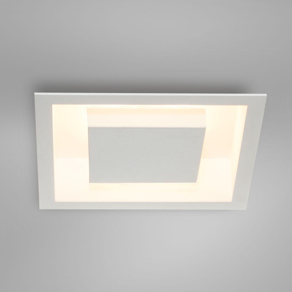 Luminária Plafon Luz Indireta Embutir Quadrada 30x30 - 2041/30