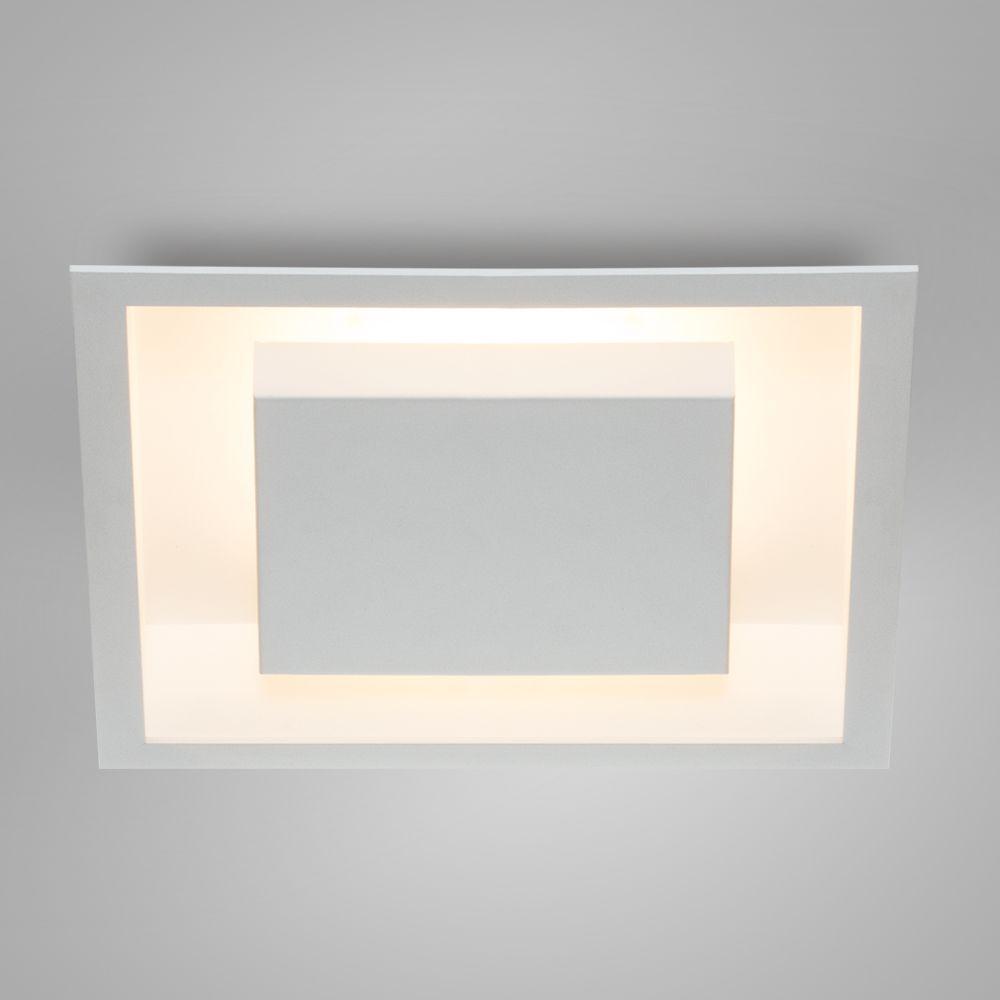 Luminária Plafon Luz Indireta Embutir Quadrada 38x38 - 2041/38