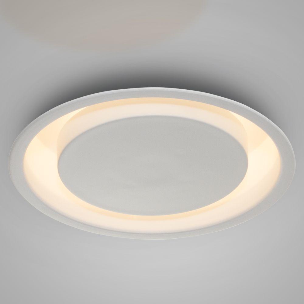 Luminária Plafon Luz Indireta Embutir Redonda Ø50 - 2042/50