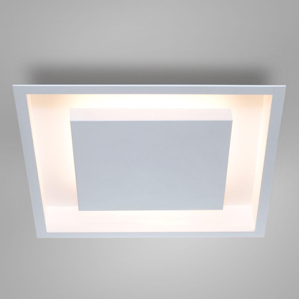 Luminária Plafon Luz Indireta Embutir Quadrada 50x50 - 2041/50