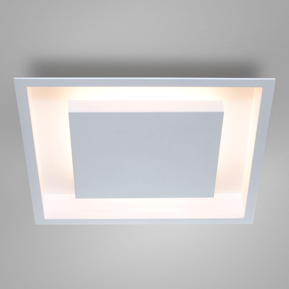 Luminária Plafon Luz Indireta Embutir Quadrada 60x60 - 2041/60