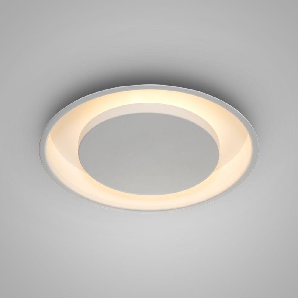 Luminária Plafon Luz Indireta Embutir Redonda Ø30 - 2042/30