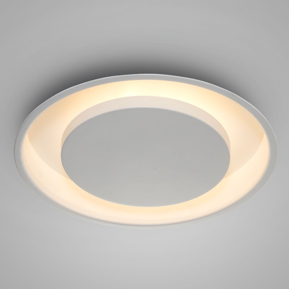 Luminária Plafon Luz Indireta Embutir Redonda Ø40 - 2042/40