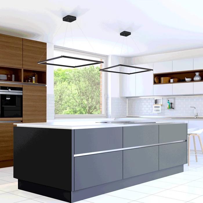 Pendente LED Concept Square 60cm x 60cm - 48w - Bivolt