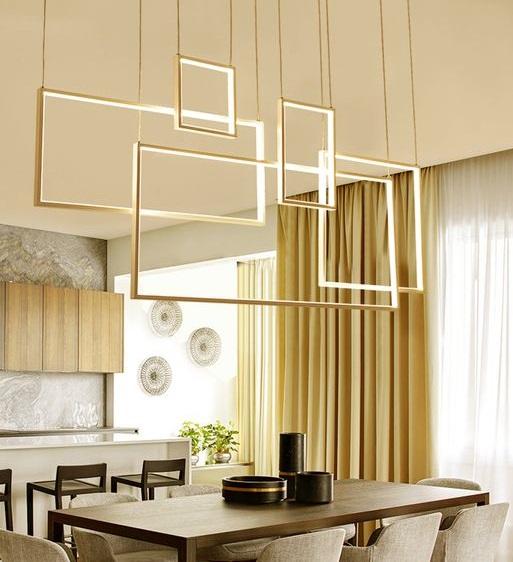 Pendente LED Concept Square Art - SOB MEDIDA