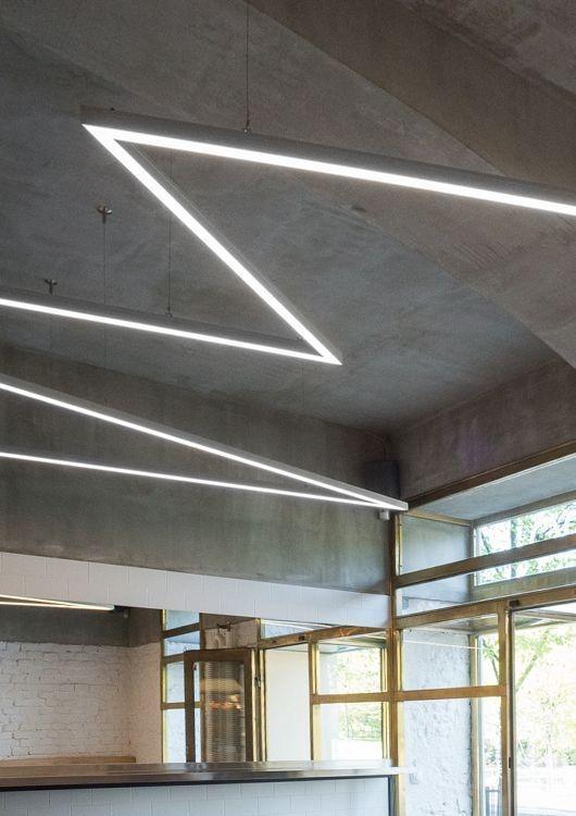 Pendente LED Concept ZigZag - SOB MEDIDA