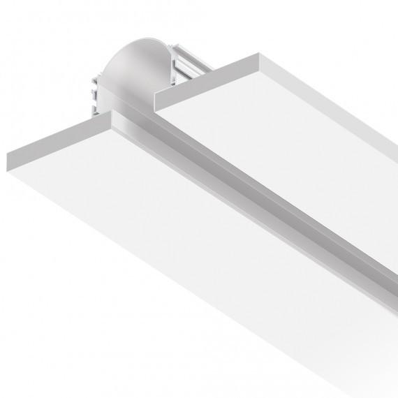 Perfil LED Embutir NO FRAME Luz Indireta - 20w/40w por metro