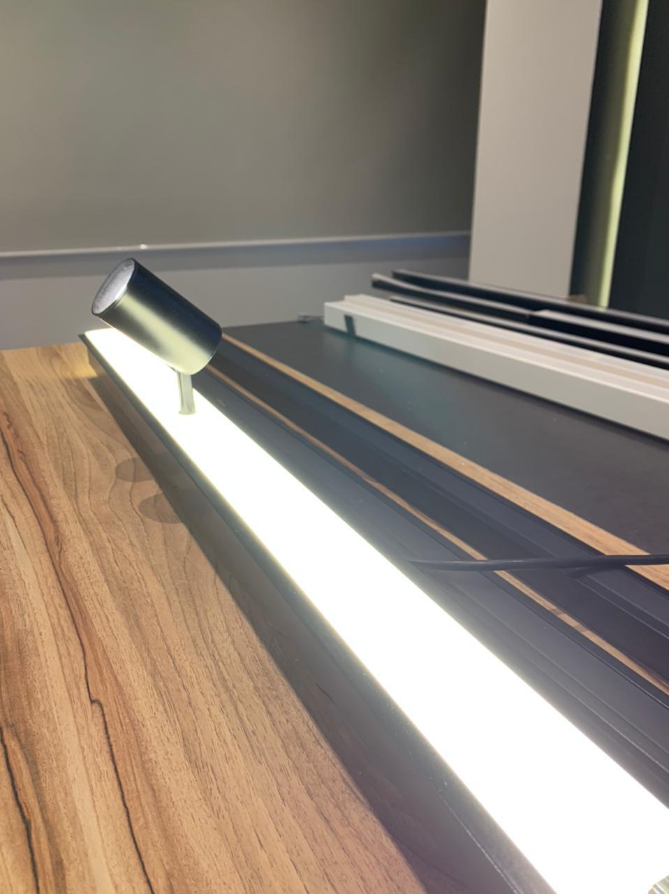 Perfil LED PONTUAL Embutir 36mm - 20w por Metro