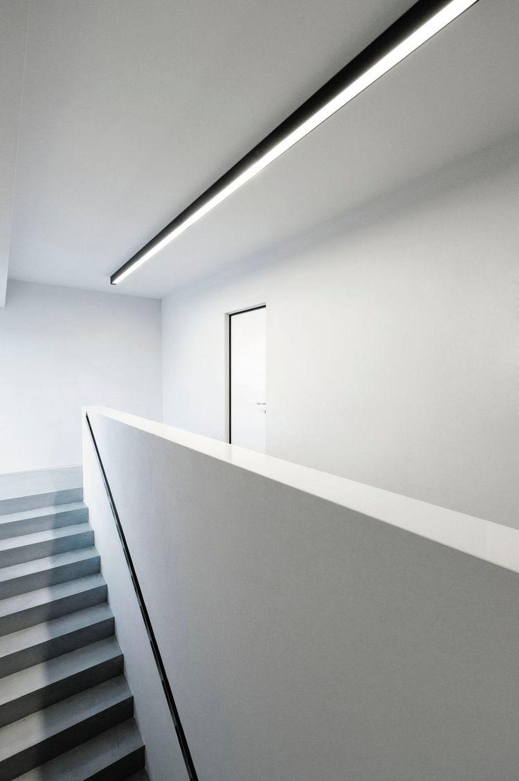 Perfil LED Sobrepor 35mm -20W por Metro - *Pronto para instalar - BLACK SERIES