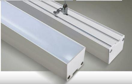Perfil LED Sobrepor 50mm - 30W por Metro - *Pronto para instalar