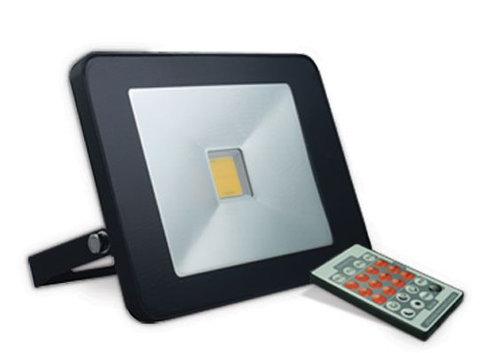 Refletor LED 20w c/ Sensor de Presença Embutido  - 9led