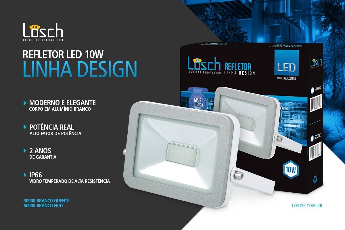 Refletor Led Design 10W  - 9led