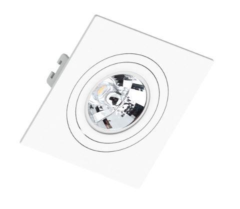Spot Embutir AR 70 Branco - Sistema Click