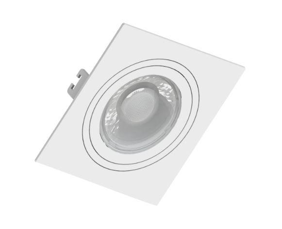 Spot Embutir GU10 Branco - Sistema Click