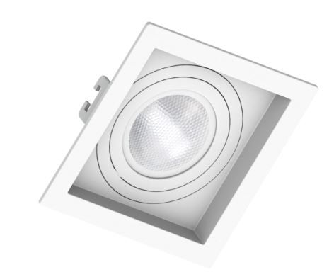 Spot Embutir PAR 20 Branco Recuado - Sistema Click