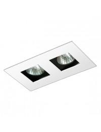 Spot Embutir Recuado P/ LED GU10 - BL1221/2 - Bellaluce