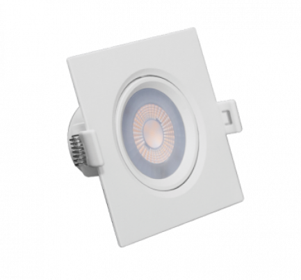 Luminária Spot Led Embutir Quadrado 5W