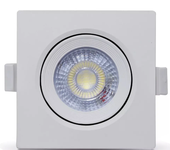 Spot Led Embutir Quadrado 5w   - 9led