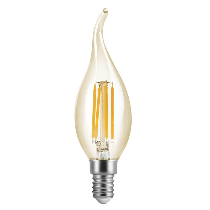 Lâmpada Vela Filamento Cristal 2w - Save Energy