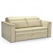 Sofá-cama Pillows da LAFER em tecido