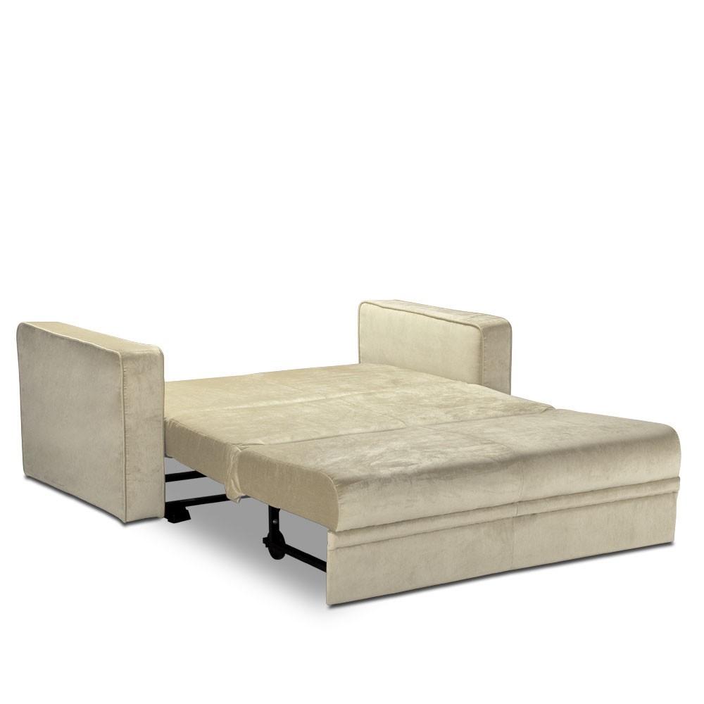 Sofá-cama Pillows da LAFER em tecido  - Interdomus LAFER