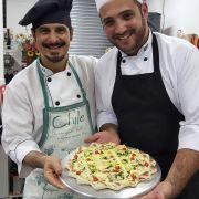 Consultoria do Cheff  Samir Ghannam em sua pizzaria.