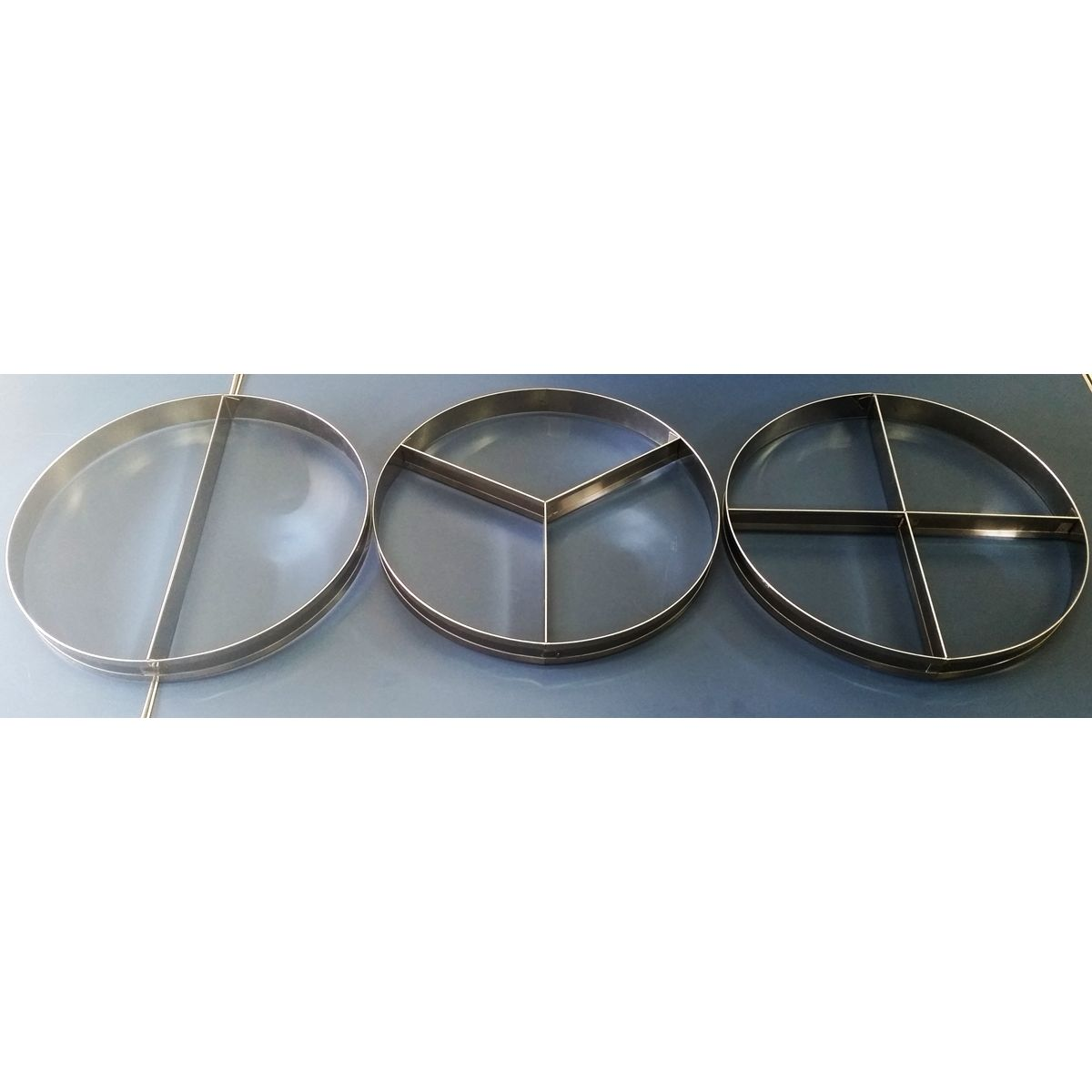 APARTADORES - 2, 3 e 4 SABORES INOX. P/PIZZAS DE 50 CM  - Fórum de Pizzas Vendas online