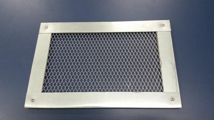 Tela de alum nio quadrada 25 x 25 cm f rum de pizzas - Tela mosquitera aluminio ...