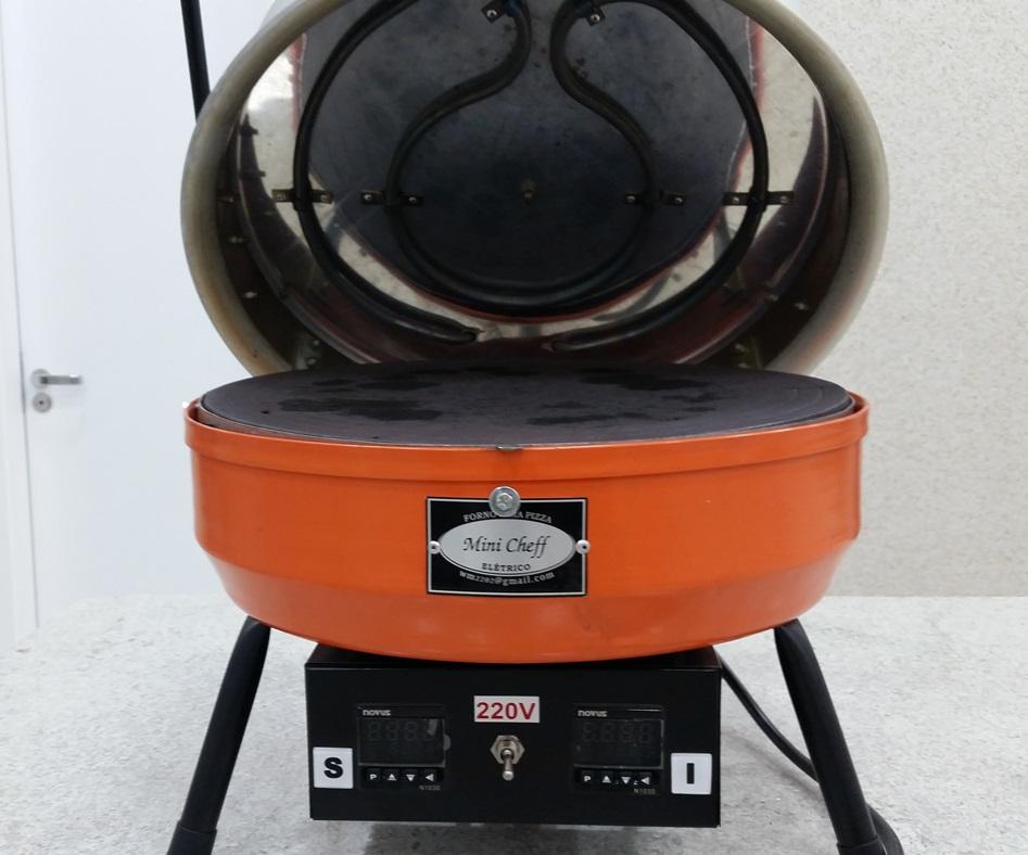 FORNO ELÉTRICO SUPER MINI CHEFF  -  220 V  - FÓRUM DE PIZZAS