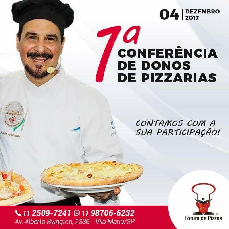 Documentos da 1a Conferência Nacional de Donos de Pizzarias  - FÓRUM DE PIZZAS