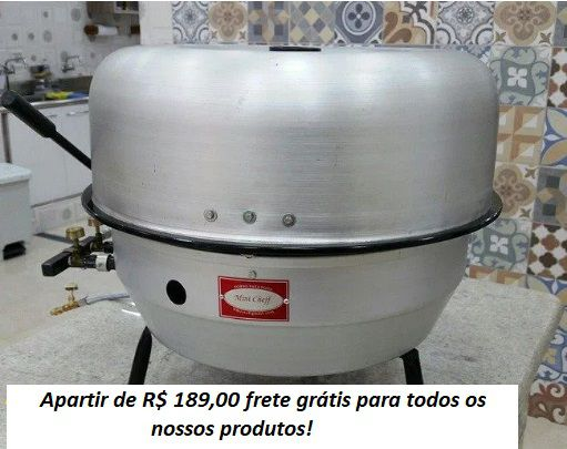 "FORNO MINI CHEFF PLUS ""CAPA DUPLA  - FÓRUM DE PIZZAS"