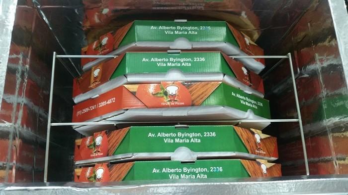 MOCHILA MOTOBOY P/05 UNIDADES DE PIZZAS DE 40 CM  - Fórum de Pizzas Vendas online