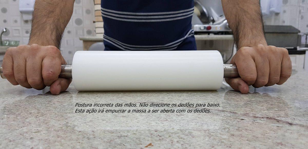 ROLO PROFISSIONAL PARA ABRIR MASSAS 20, 25, 30, 35, 40 CM   - FÓRUM DE PIZZAS