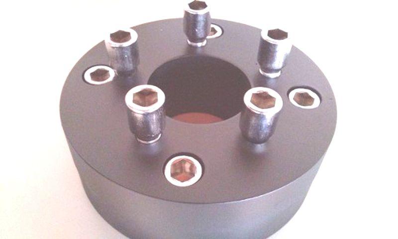 01 Pçs Adaptador De Roda Fusca 4 F 4x130mm P/ 5x100mm Golf