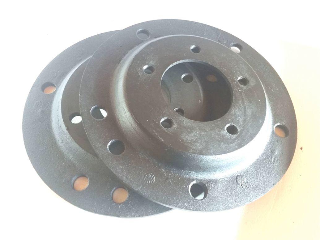 02 Adaptador De Roda Fusca 5 Furos 5x205mm P/ 5x110mm P/omega