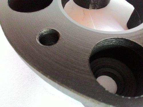 02 Pç Espaçador De Roda Para Gol 4x100mm P/ 4x100mm 28mm Spf