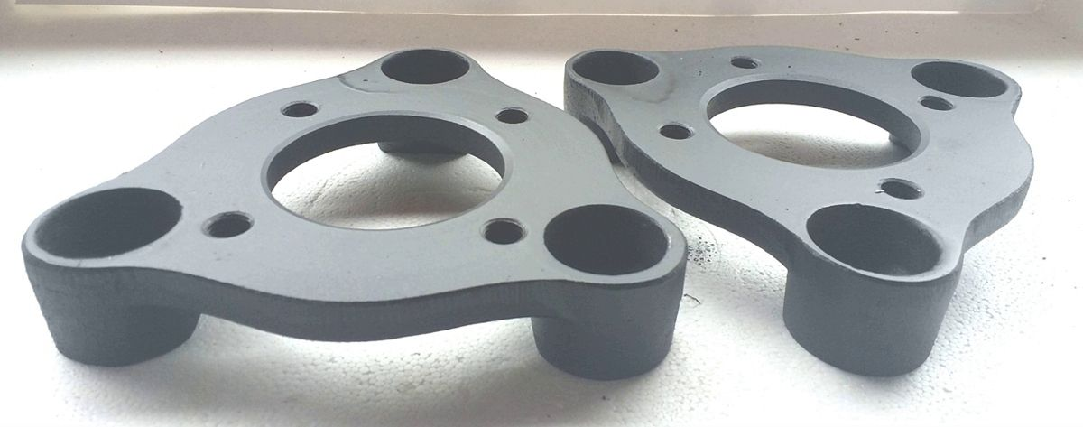 02 Pçs Adaptador de Roda Corcel Pampa 3x150mm P/ 4x100mm cpf