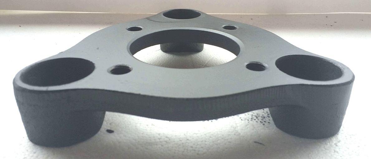 02 Pçs Adaptador De Roda Corcel Pampa 3x150mm P/ 4x100mm SPF