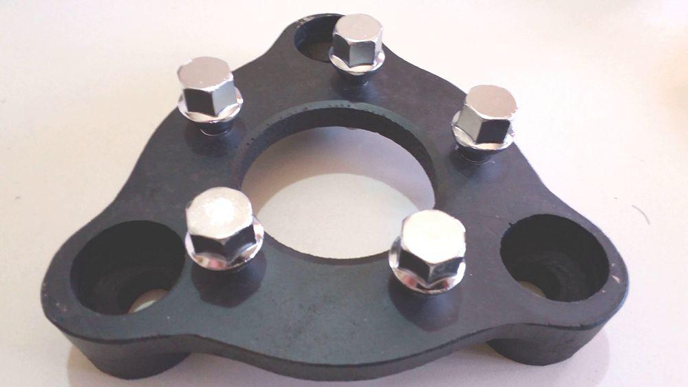 02 Pçs Adaptador de Roda Corcel Pampa  3x150mm P/ 5x100mm cpf