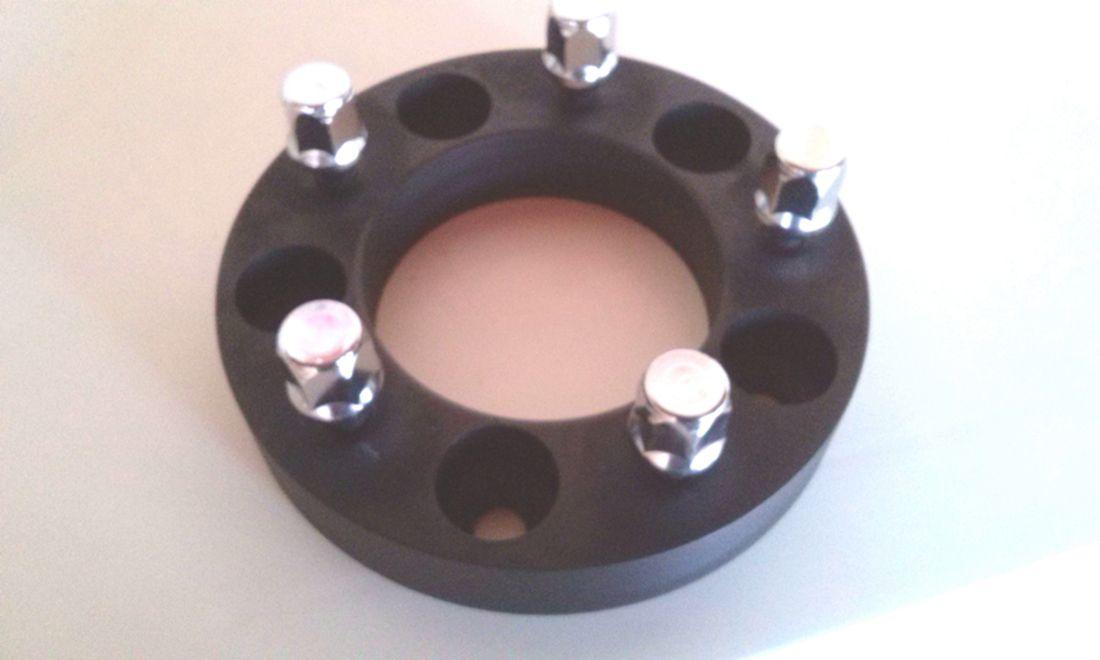 02 Pçs Adaptador De Roda F1000 5x139,7mm P/ 5x114,3mm 25MM