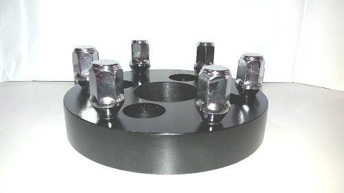 02 Pçs Adaptador De Roda Gol 4x100mm P/ 6x139,7mm 22mm Prcr